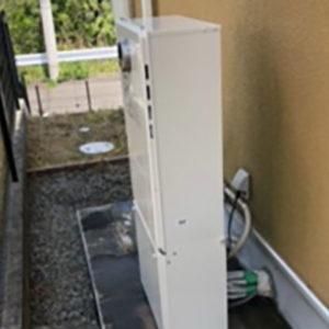 兵庫県西宮市 エコウィルから ノーリツ 給湯暖房機 取替交換工事