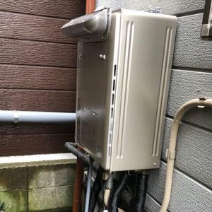 東京都江戸川区 リンナイ 給湯暖房機 取替交換工事