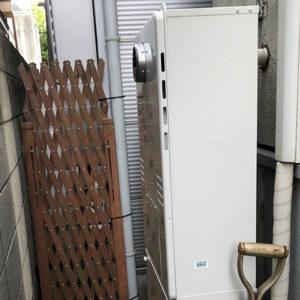 東京都杉並区 ノーリツ 給湯暖房機 取替交換工事