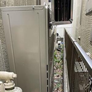 千葉県松戸市 リンナイ 給湯暖房機 取替交換工事