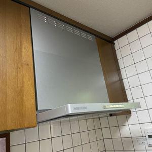 兵庫県神戸市西区 リンナイ レンジフード 取替交換工事