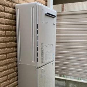 大阪府堺市東区 リンナイ 給湯暖房機 取替交換工事